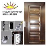 Iran style reinforced steel security door SC-S083    2011 new model