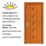 PVC coated MDF door SC-P179 with CE,ISO9001