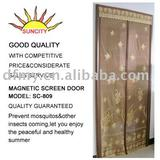 Diy magnetic door screen,mosquito door curtain SC-809