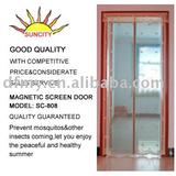 Hot sale! Diy magnetic screen curtain sc-808