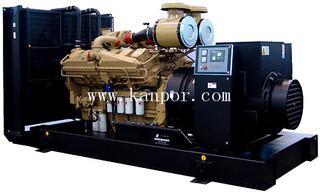 CUMMINS engine KTA38-G9 silent Diesel generator set with stamford alternator 1000KW/1250KVA 1100KW/1375KVA