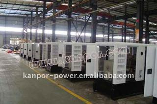 cummins diesel generator set with CE ISO approval 50kva
