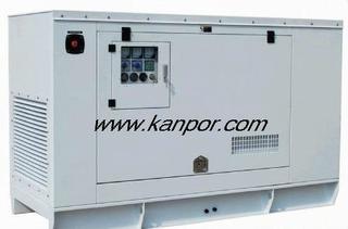 cummins diesel generator silent /open type