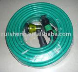 garden hose with spray gun environmental protection