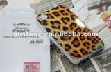 A006 Leopard Grain Case for Iphone 4S