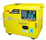 Air cooled silent diesel generator
