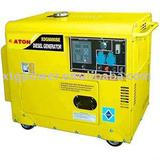 ATON 5kw~6kw Air-cooled Single-Cylinder Silent Diesel Generator
