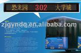 destination display for bus