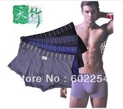 Hot wholesales!!! Breathable, Super soft and comfortable 100% bamboo fiber underwear mens