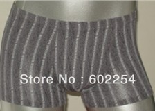 Hot wholesales!!! Anti-bacterial mite, breathable and comfortable 100% bamboo fiber men's lingerie