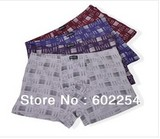 New arrival!!! high sweat absorbent and soft touching breathable long trunks, plus size underwear for men
