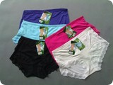 Hot wholesale!!! breathable and comfortable 100% bamboo womens panties