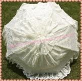 Hot wholesale!!! Free shipping luxury fashion lace design wedding umbrella bridal umbrella palace umbrella  10pcs/pack