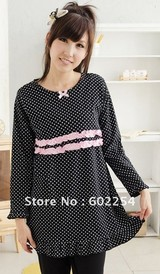 Hot wholesale Free shipping winter thicker long sleeve comfortable Fashion maternity wear