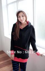 Hot wholesale Free shipping thermal long sleeve winter breast-feeding coat nursing coat maternity coat