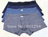 2013 Hot wholesale 100% bamboo Super soft and anti-bacterial mite big size mens shorts