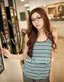 Hot wholesale!!! Free shipping Stripe design soft and comfortable maternity tank tops
