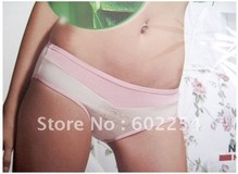 Hot Wholesale!!! Free shipping comfortable and breathable 100% bamboo fiber fashion girl's Briefs