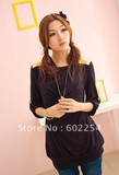 Hot wholesale cotton fabric soft and comfortable breast feeding tops maternity wear