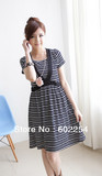 Hot wholesale Free shipping Fashion high elastic soft and comfortable modal pregnant dress maternity wear