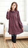 Hot wholesale Free shipping Fashion soft and comfortable long sleeve maternity tops maternity shirts