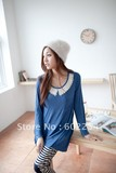 Hot wholesale Free shipping Fashion design and comfortable long sleeve maternity tops
