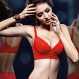 New Arrival!!! Free shipping superior quality Triumph push up B cup fashion girl's bra