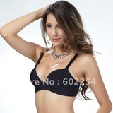 New Arrival Free shipping Triumph luxury design gather Push up B cup Fashion seamless lady's bra set