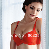 New Arrival!!! Free shipping superior quality Triumph push up B cup sexy bra sets lady's bra sets