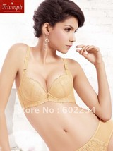 New Arrival!!! Free shipping superior quality Triumph push up A cup fashion bras