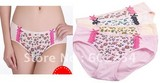 New Wholesale Free shipping superior quality soft and comfortable bamboo fiber Fashion ladies' briefs