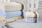 Hot wholesale!!! Free shipping super soft comfortable and breathable 140x70cm 420gsm 100% bamboo bath towel