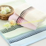 Hot wholesale!!! Free shipping 100% bamboo fiber grade A quality soft and anti-bacterial mite hand towels