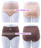 hot wholesale Free shipping 100% bamboo fiber comfortable breathable big size mother's underwear