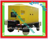 with CE,ISO Ricardo series 30-200kw mobile/ silent diesel generator