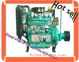 with V-pulley and clutch K495/4100P diesel engine