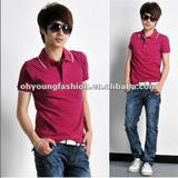 Hot summer fashionable and easy style Men's short sleeve polo shirt