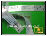 Custom Satin Screen Printing Labels