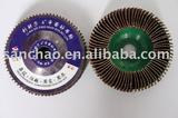 upright abrasive  flap disc