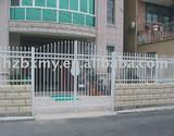safety and metal powder coated picket fencing and gates