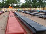 Belt conveyor painting roller