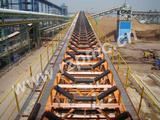 Port mine belt conveyor system