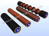 Mine belt conveyor rollers