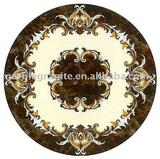 36'' Water jet marble medallion tiles and mosaic