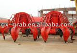 Electric Hydraulic Orange grab