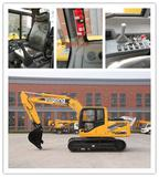 new 15 ton small size crawler excavator with price,hydraulic system, for construction machine