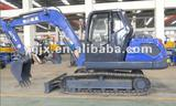 yuchai engine steel caterpillar,65kw, hydraulic,crawler excavator with an air-condition for mining and construction machinery