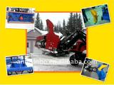 snow blower on front end loader for Tractor