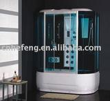 Steam shower cubicles