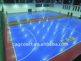 indoor soccer court flooring plastic